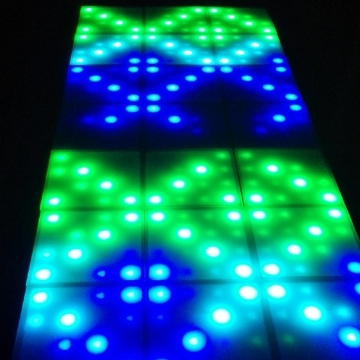 Music Active DMX512 RGB LED Dance Panel Light