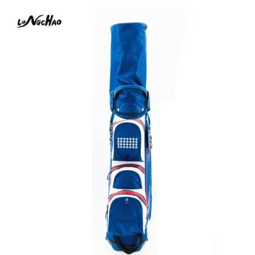 Dongguan Best Selling Custom Logo OEM Blue golf Club Cart Bag Use for outdoor