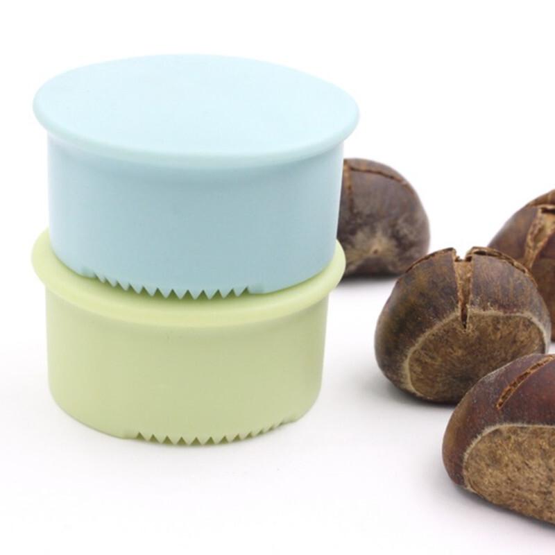 New Manual Nut Cracker Sheller Chestnut Cross Open Knife Quick Chestnut Cutter Nut Opener Sheller Walnut Pliers Kitchen Gadgets