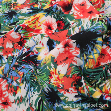100% Woven Viscose Voile Printed &Dyed Fabrics