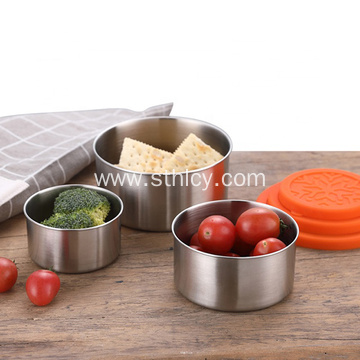 3pcs Stainless Steel Bulk Food Storage Containers