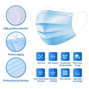 Mouth Cover Respirator Protector Safety Medical Face Mask