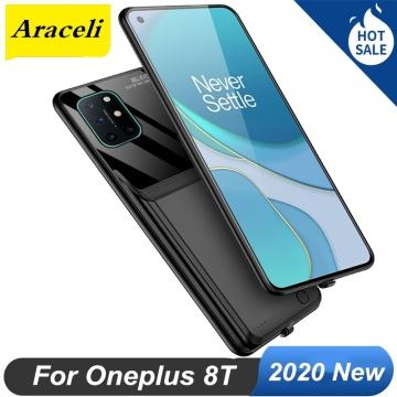 Araceli 10000 Mah For Oneplus 8T Battery Case Smart Phone Battery Charger Case Power Bank For Oneplus 8T Battery Case