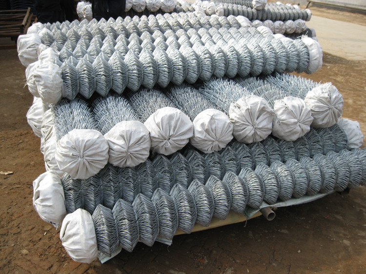 wholesale galvanized used chain link fence for sale