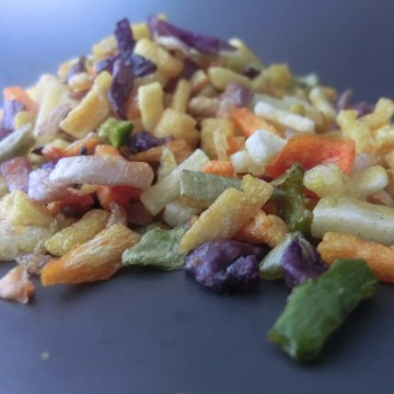 South Korea hot sell mixed vacuum fried vegetables