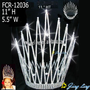 Europe and America Full Round Pageant Crowns