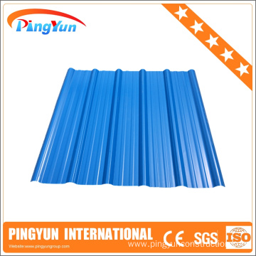 ASA UPVC Spanish corrugated plastic roofing sheets