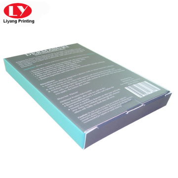 clear window gloves paper box printing