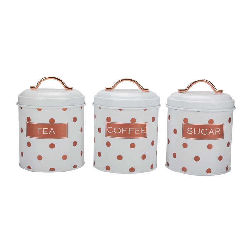 Coffee Sugar Tea Canister Set