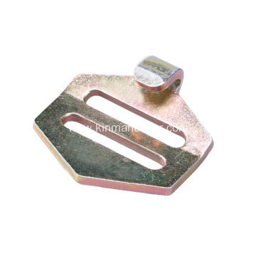 Flat J Hook For Trailer Straps