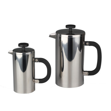 Double Wall French Press Build With PlasticHandle