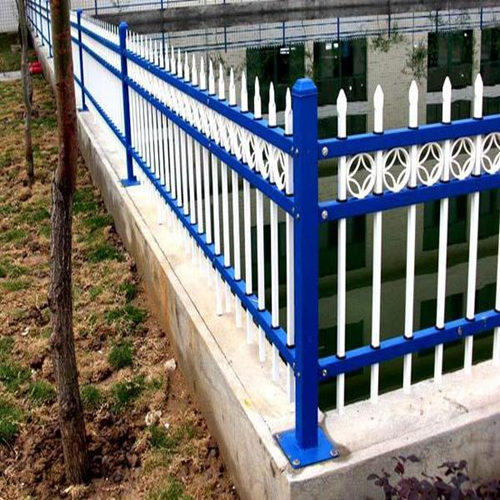 DM-galvanized picket weld fence/Ornamental Iron steel
