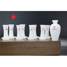 Competitive Price Opal Glass Tea Set