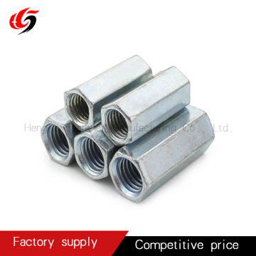 Long Round Steel Bar Coupling Nut