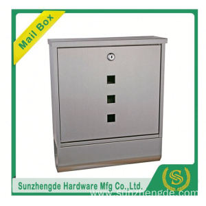 SMB-059SS Good Price Genmany Outdoor Hen Freestanding Mailboxes