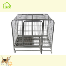 Durable Rustproof Black Square Tube Pet Dog Cage