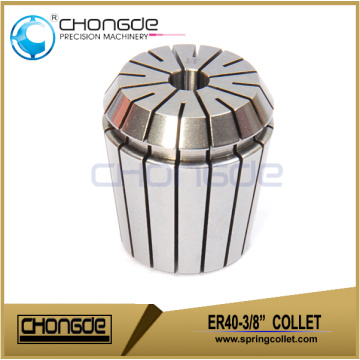 "ER40-3/8"" Precision Collet Clamping Range 0.375"" - 0.335"""