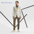Men's Jacket Notched Lapel Slim Fit Causal Blazer