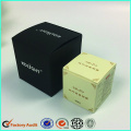 Cosmetics Boxes For Skincare Package in Black