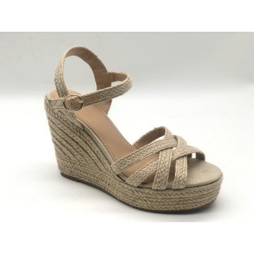Women's Espadrille Braided Wedge Casual Sandals