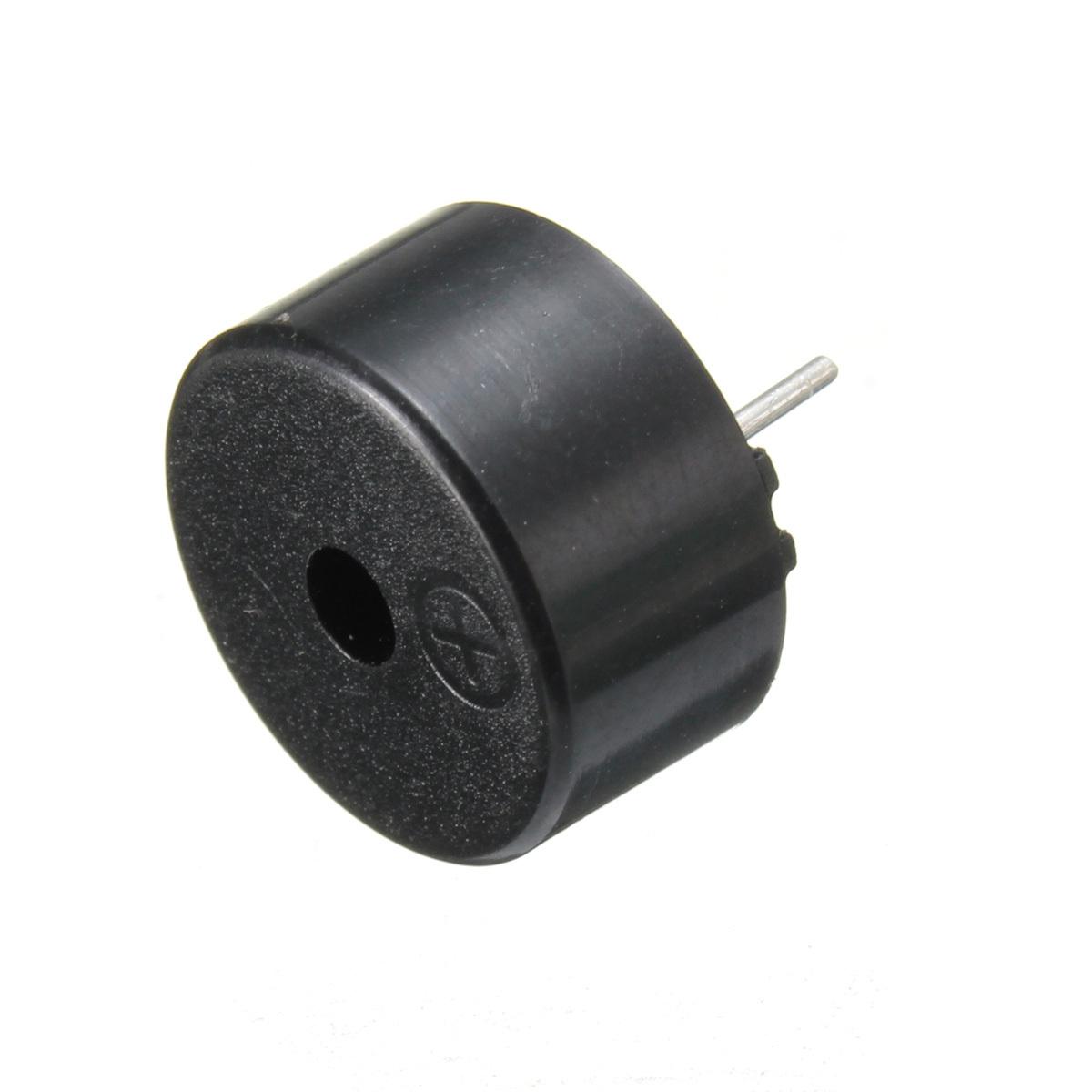 2017 Hot Sale Black Plastic 14 x 7mm 2 Pins Passive Piezo Buzzer AC1-3V Piezo Transducer with Flying Lead Acoustic Components