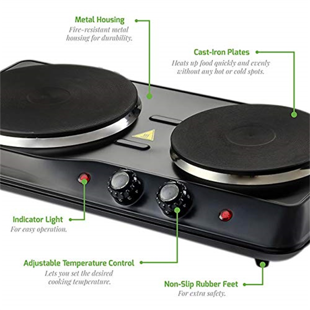 Double kitchen Hotplate