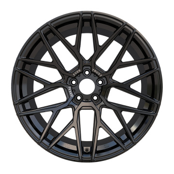 Custom Car Rims 18x9 5x114.3 Fully Black