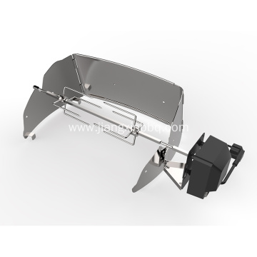 Universal Grill Rotisserie Kit Fits For Gas Grill