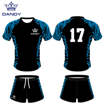 Customized quick dry rugby jersey