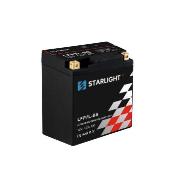LiFePO4 LFP7L-BS 12.8V Lithium Motorcycle Battery