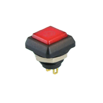 Waterproof LED Illuminated Light Push Button Switch