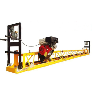 Road construction concrete leveling machine