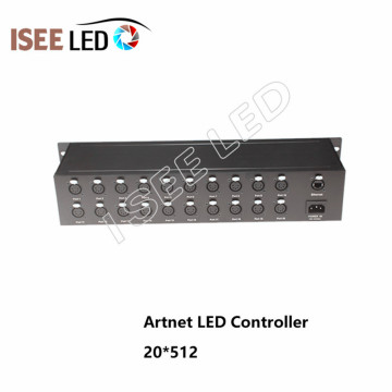 30Channels Madrix Software Artnet Led Ethernet Controller