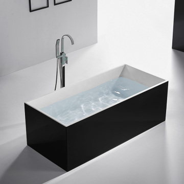 Bathroom One Person Soaking Freestanding Acrylic Bathtub