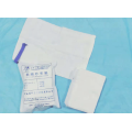 Disposable white skim gauze pad