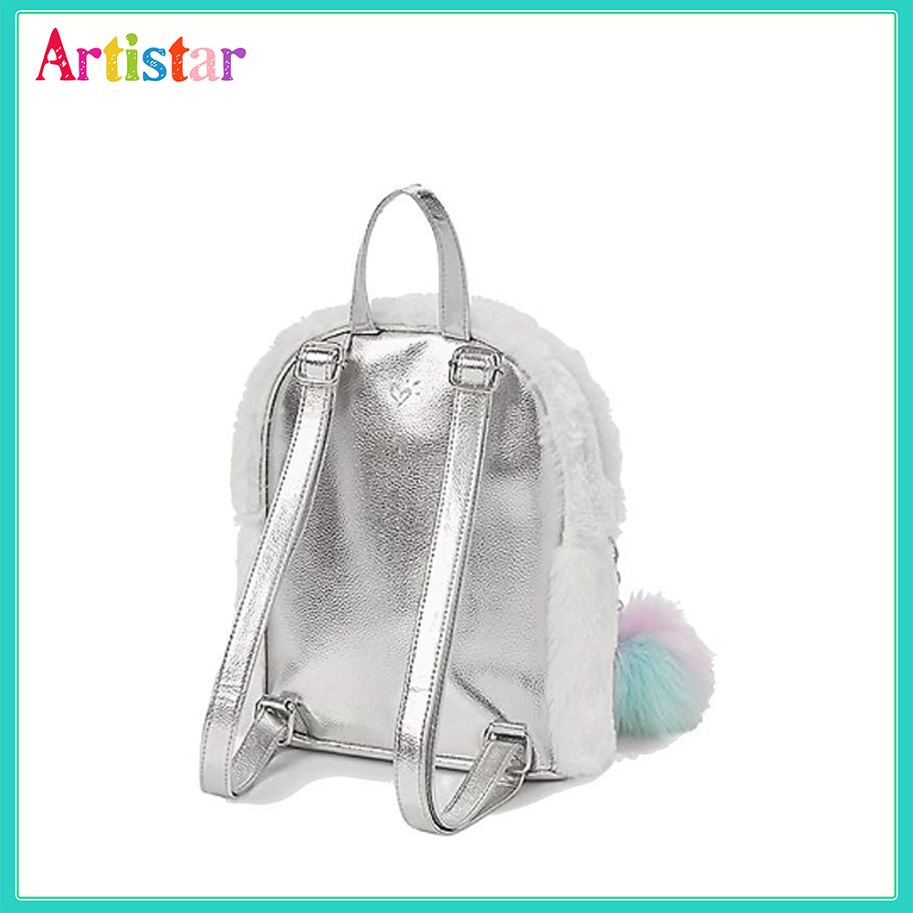 Unicorn Plush Backpack 04 2