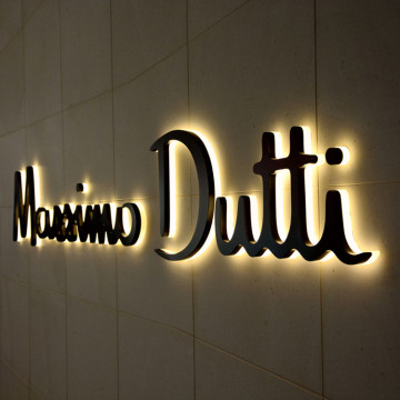 Halo Lit LED Channel Letter Signs for Shop