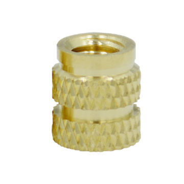 m3  brass insert nut knurled injection nut