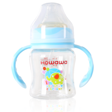 Wide Neck Automatic PCTA Feeding Bottles With Handle
