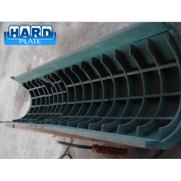 Chromium Carbide Hardfacing Overlay Distributor Chute