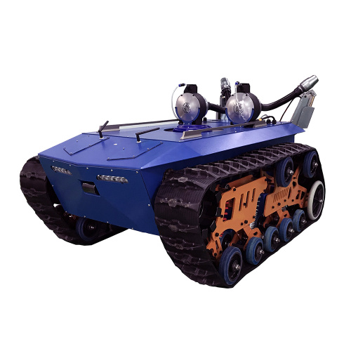 Unmanned Vehicle For Crop Spraying