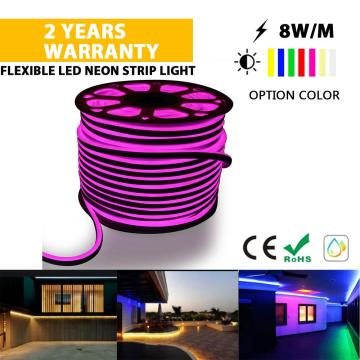 High quality LED Neon strip light Pink color