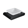 HIDEEP Pure Brass Bathroom Black Soap Dish Holder