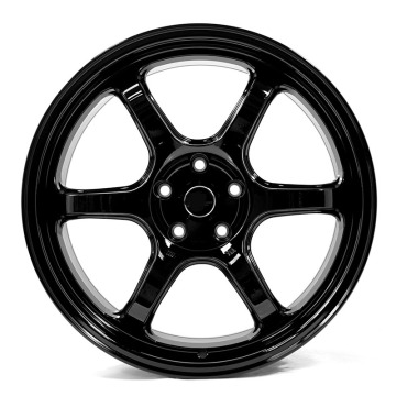 Red 19inch alloy wheel Staggered