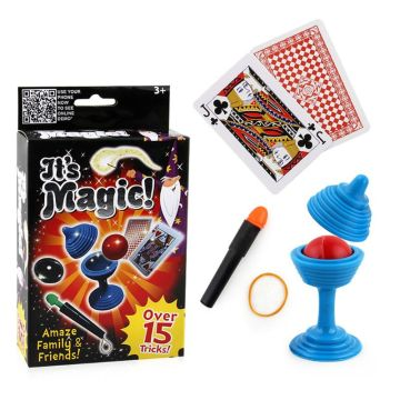 Novelty Magic Toy Box Kit Trick Props Education Toy Gadget Kids Gift
