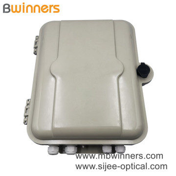 Ip65 1X16 Core Smc Fiber Optic Distribution Box Splitter Box For Ftth