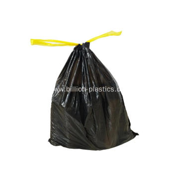 PE Drawstring Garbage Bag Drawstring