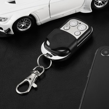 Door Remote Cloning Duplicator Key Fob A Distance Remote Control 433MHZ Clone Fixed Learning Code For Gate Garage Door