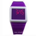 Square Touch-Activated Sports Watch