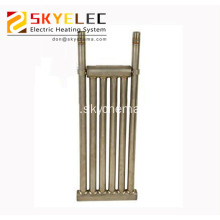 titanium fluid cooling tube/heat exchanger